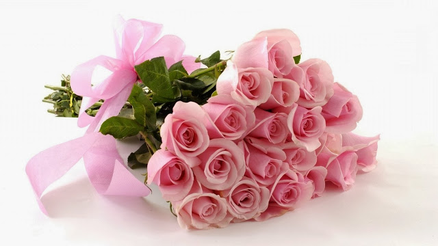 11636-bouquet-of-pink-roses-1366x768-flower-wallpaper