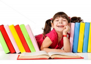 stock-photo-happy-little-girl-reading-a-book-on-the-floor-isolated-on-white-background-97269017
