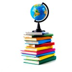 stock-photo-globe-on-books-isolated-over-white-background-97336880