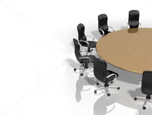 stock-photo-illustration-of-a-round-table-surrounded-by-chairs-30971338