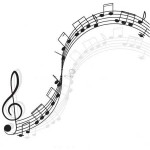 stock-vector-music-treble-clef-and-notes-for-your-design-on-a-white-background-95073313